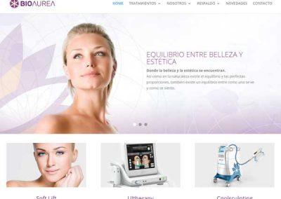 Campaña integral de marketing para Bioaurea