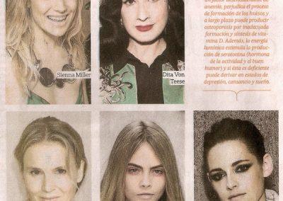 Sirex – La Nación Moda y Belleza, diciembre 2013