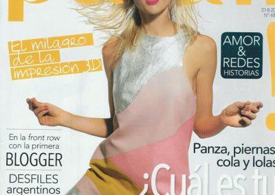 Irene Bermejo – Revista Para Ti, agosto 2015