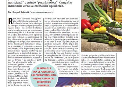 Irene Bermejo – Revista Noticias, mayo 2015