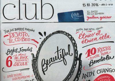 Sirex – Revista Club La Nación, octubre 2016
